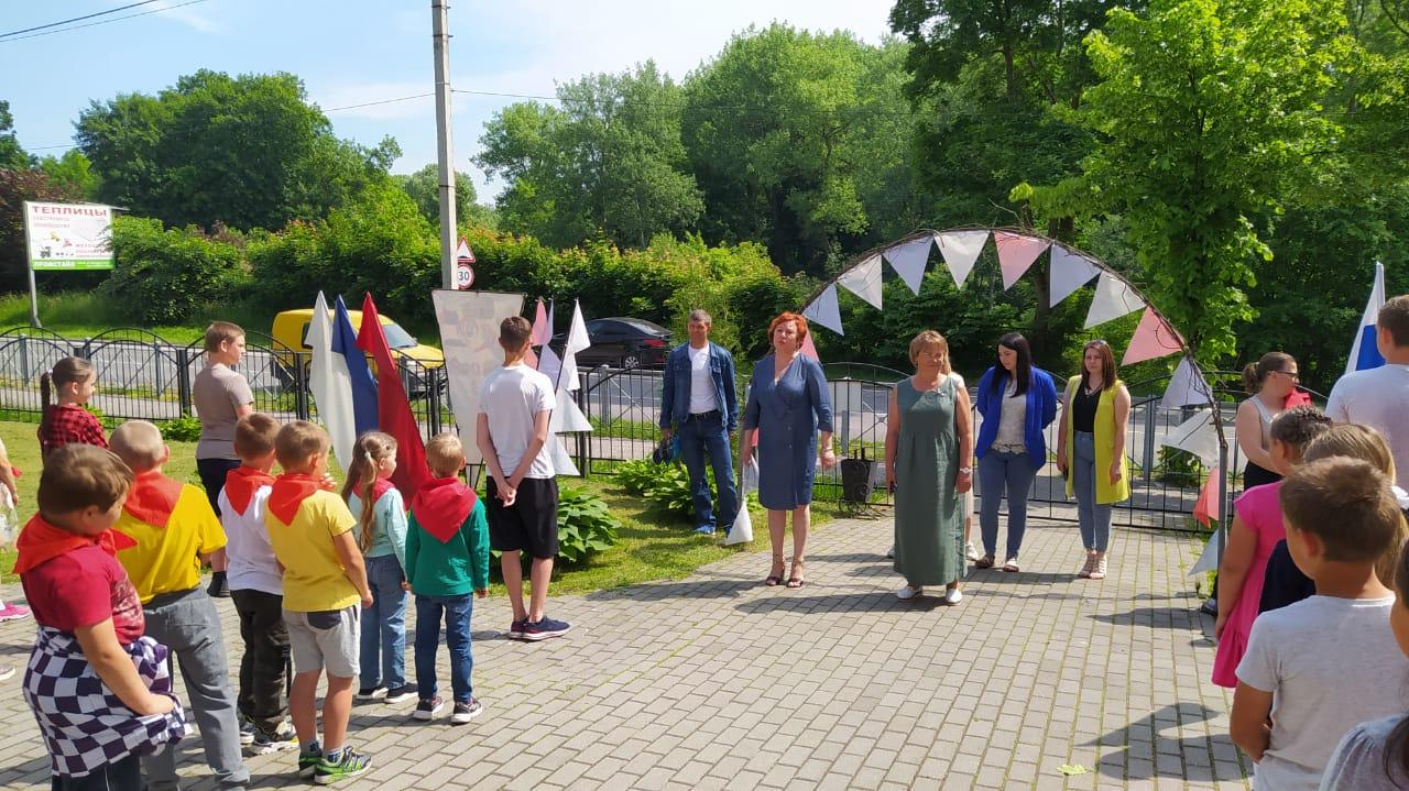 Мероприятия в летнем оздоровительном лагере «Планета творчества»