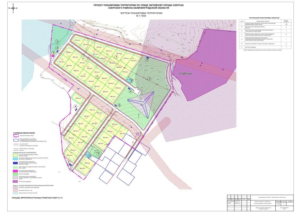 проект планировки и межевания по ул. Литейная___