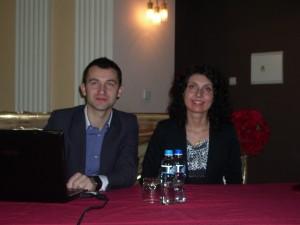 Активные участники проекта: Павел Елизаров и Анна Миклашевски