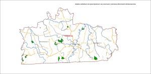 Карта свободных от прав третьих лиц земельных участков областной собственности